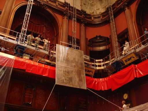 fino al 20.VII.2007 | Il fregio di Giulio Aristide Sartorio | Roma, Montecitorio