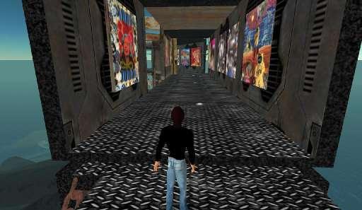 second_life | Professor Bad Trip | Decoder Island, Second Life