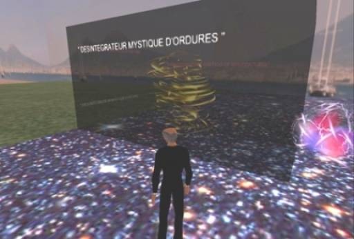 second life | Fred Forest | Napoli, Entropy Art