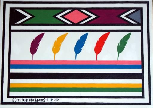 fino al 15.XII.2010 | Esther Mahlangu | Napoli, Franco Riccardo