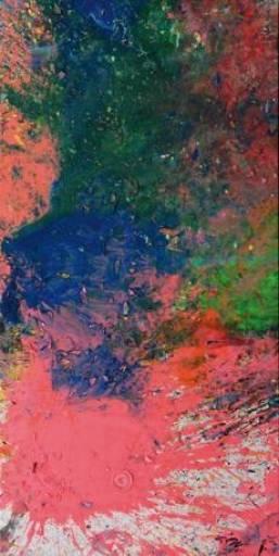 fino al 10.IV.2011   Shozo Shimamoto, Kamikaze del colore   Caserta, Nicola Pedana Arte Contemporaea