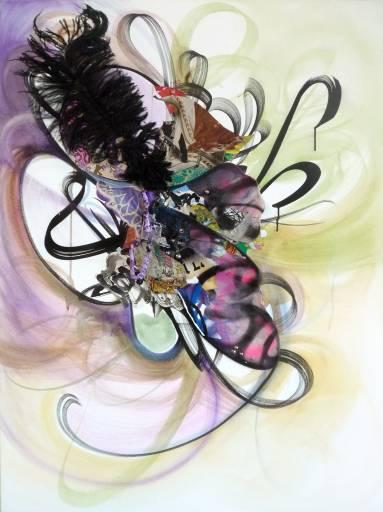 fino al 22.XII.2011   Shinique Smith / Zsolt Bodoni   Milano, Brand New Gallery