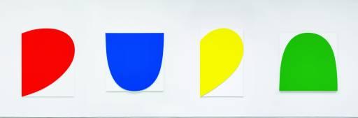 fino al 13.VII.2012   Ellsworth Kelly   Parigi, Galleria Marian Goodman