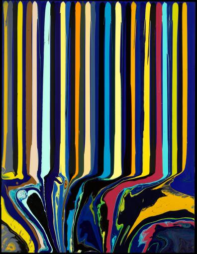 L'intervista/Ian Davenport | L'incontrollabile forza del colore