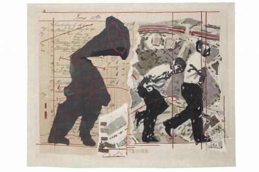 Fino al 23.II.2013 | William Kentridge. Sketches for a Neapolitan mosaic | Napoli, Galleria Lia Rumma