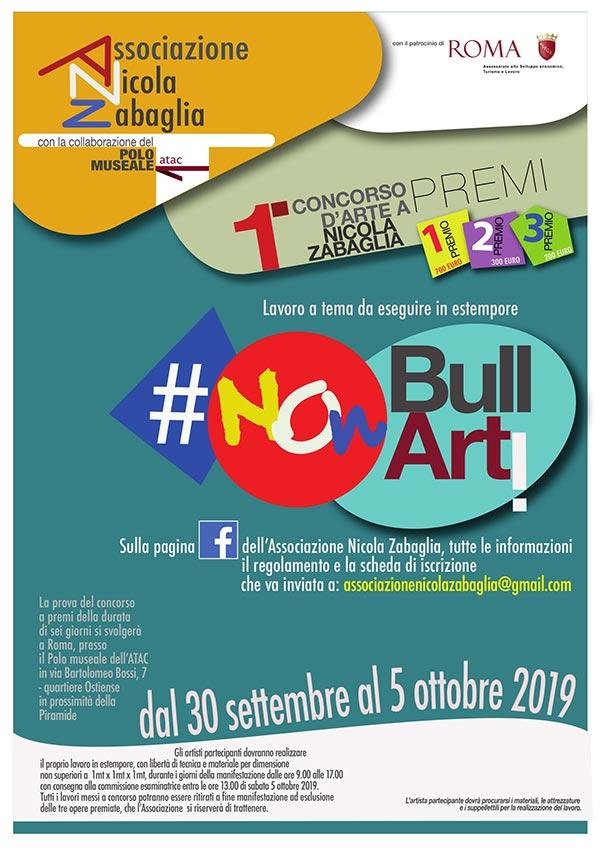 NON BULLARTI  | CONCORSO PER ARTISTI  | PREMIO NICOLA ZABAGLIA