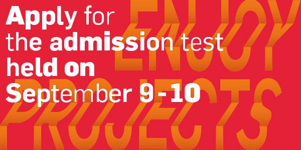 RUFA: 9 e 10 settembre i test di ammissione per le lauree di primo e di secondo livello