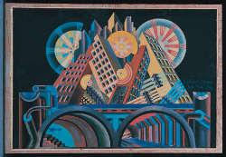 @Fortunato Depero, Grattacieli e Tunnel