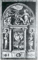 Altare di anonimo fiorentino, fine XVI secolo