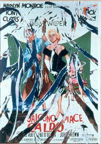 Rotella, Il concerto di Marilyn 1959 - 99 decollage su tela cm 140x100 collezione privata