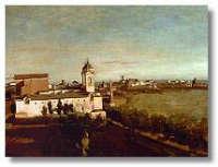 Jean Baptist Camille Corot -La Trinitè des Monts