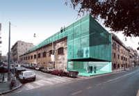 odile decq, progetto per il secondo lotto degli spazi espositivi ex fabbrica birra peroni, roma