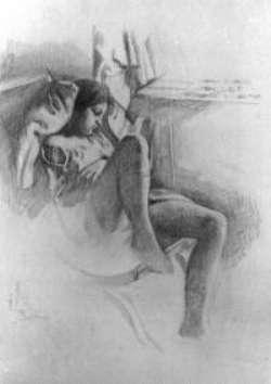 Balthus, fanciulla dormiente