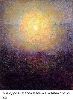 Giuseppe Pellizza - Il sole - 1903-04 - olio su tela