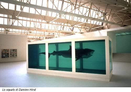Lo squalo di Damien Hirst