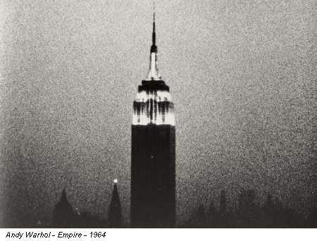 Andy Warhol - Empire - 1964
