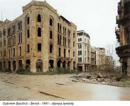 Gabriele Basilico - Beirut - 1991 - stampa lambda