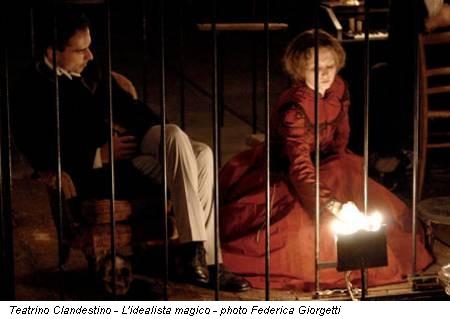Teatrino Clandestino - L'idealista magico - photo Federica Giorgetti