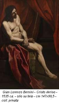 Gian Lorenzo Bernini - Cristo deriso - 1535 ca. - olio su tela - cm 147x99,5 - coll. privata
