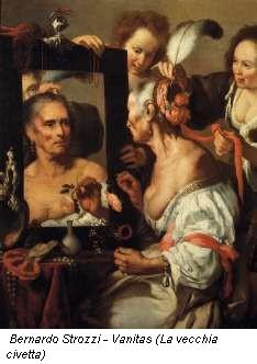 Bernardo Strozzi - Vanitas (La vecchia civetta)