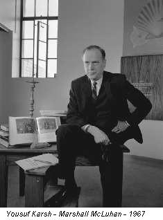 Yousuf Karsh - Marshall McLuhan - 1967