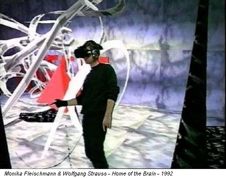 Monika Fleischmann & Wolfgang Strauss - Home of the Brain - 1992