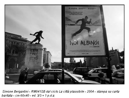 Simone Bergantini - RM041SB dal ciclo La città plausibile - 2004 - stampa su carta baritata - cm 60x40 - ed. 3/3 + 1 p.d.a.