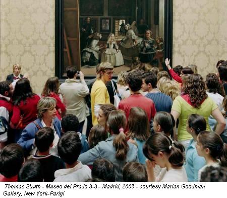 Thomas Struth - Museo del Prado 8-3 - Madrid, 2005 - courtesy Marian Goodman Gallery, New York-Parigi