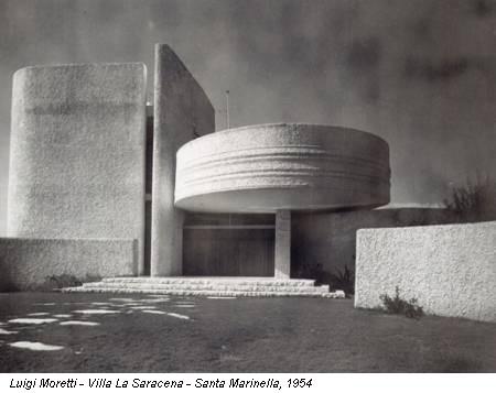 Luigi Moretti - Villa La Saracena - Santa Marinella, 1954