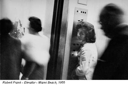 Robert Frank - Elevator - Miami Beach, 1955