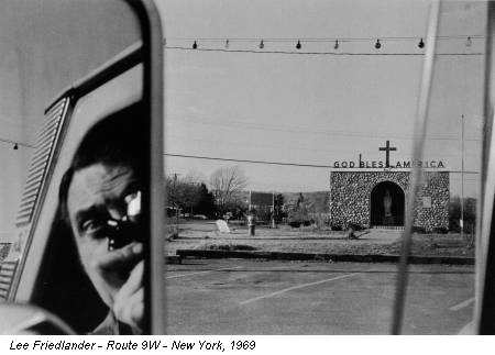Lee Friedlander - Route 9W - New York, 1969