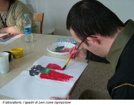 Il laboratorio: i quadri di Levi come ispirazione
