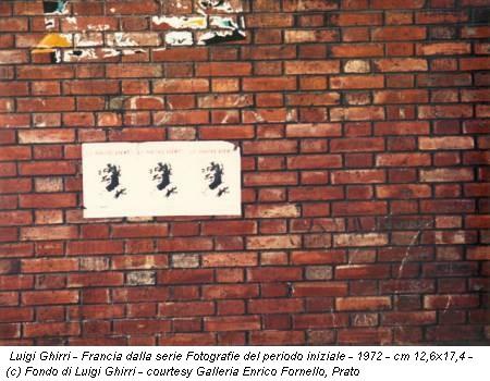 Luigi Ghirri - Francia dalla serie Fotografie del periodo iniziale - 1972 - cm 12,6x17,4 - (c) Fondo di Luigi Ghirri - courtesy Galleria Enrico Fornello, Prato