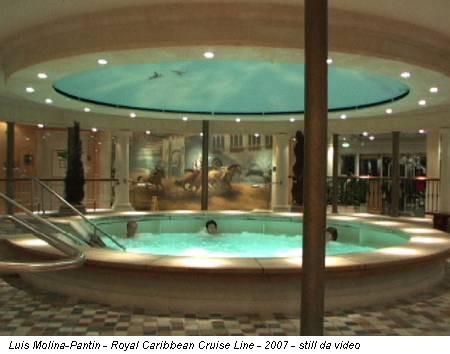 Luis Molina-Pantin - Royal Caribbean Cruise Line - 2007 - still da video