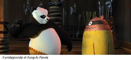 Il protagonista di Kung-fu Panda