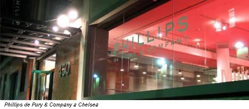 Phillips de Pury & Company a Chelsea