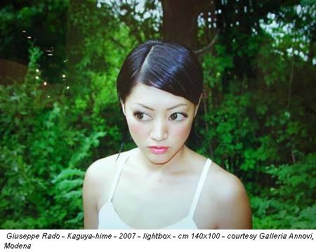 Giuseppe Rado - Kaguya-hime - 2007 - lightbox - cm 140x100 - courtesy Galleria Annovi, Modena
