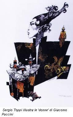 Sergio Toppi illustra le 'donne' di Giacomo Puccini