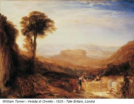 William Turner - Veduta di Orvieto - 1828 - Tate Britain, Londra