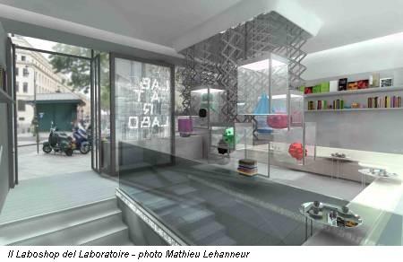 Il Laboshop del Laboratoire - photo Mathieu Lehanneur