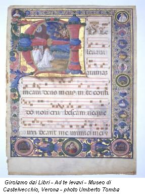 Girolamo dai Libri - Ad te levavi - Museo di Castelvecchio, Verona - photo Umberto Tomba