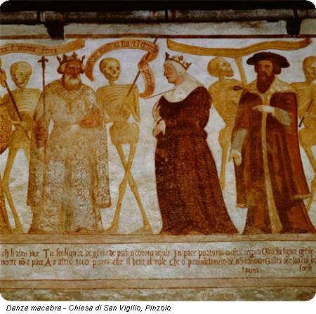 Danza macabra - Chiesa di San Vigilio, Pinzolo