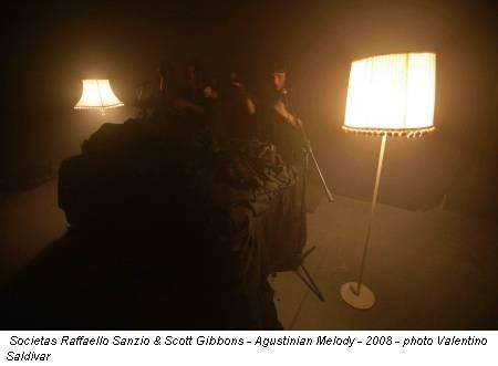 Societas Raffaello Sanzio & Scott Gibbons - Agustinian Melody - 2008 - photo Valentino Saldivar