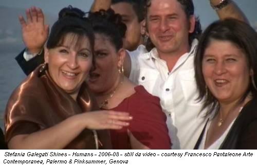 Stefania Galegati Shines - Humans - 2006-08 - still da video - courtesy Francesco Pantaleone Arte Contemporanea, Palermo & Pinksummer, Genova
