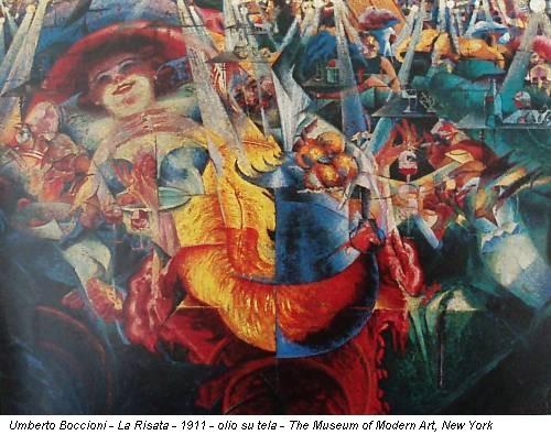 Umberto Boccioni - La Risata - 1911 - olio su tela - The Museum of Modern Art, New York
