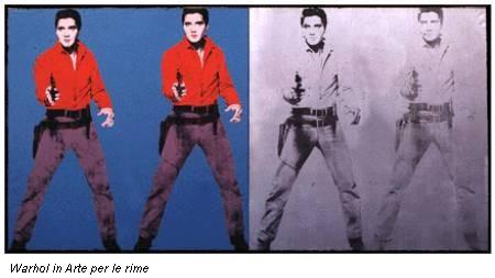 Warhol in Arte per le rime