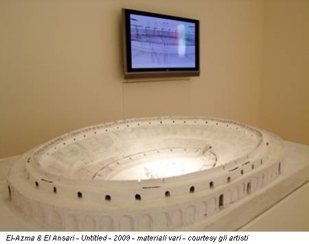 El-Azma & El Ansari - Untitled - 2009 - materiali vari - courtesy gli artisti