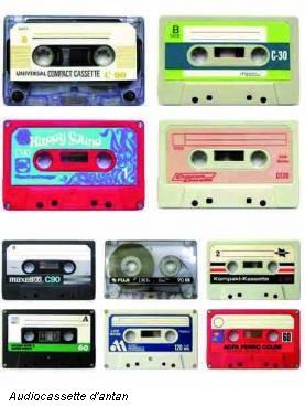 Audiocassette d'antan
