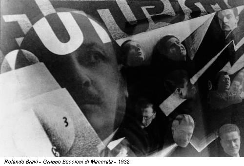 Rolando Bravi - Gruppo Boccioni di Macerata - 1932
