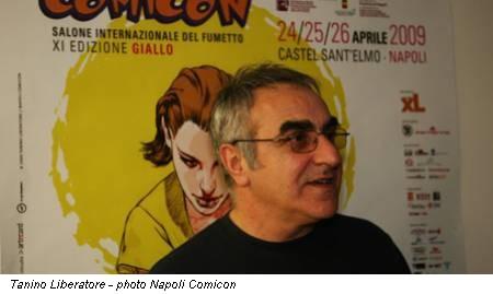 Tanino Liberatore - photo Napoli Comicon
